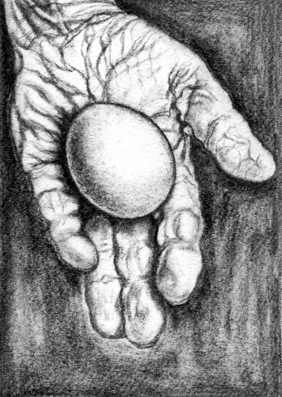 Lust, pencil and charcoal on paper, 2006 -2007